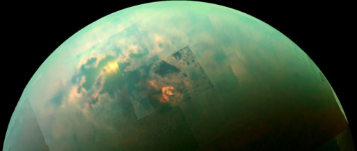 "Titan's ""magic islands"" aren't islands, or bubbles"